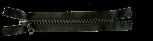 riri Metal 6 Reissverschluss (Meterware) - BE Altsilber