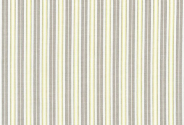 BW-Stoff Gent Streifen ecru-taupe, lemongrün