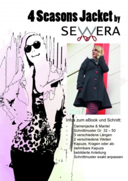 4 Seasons Jacket Schnittmuster & Anleitung by Sewera