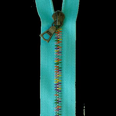 riri Reissverschluss Eloxal 6 RIO - Meterware