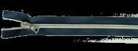 riri RV Flex 6 Metallic 1m mit 4 Schiebern - Navy / Silber
