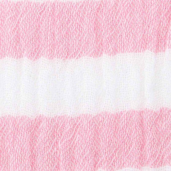 Double Gauze Design Stripes - col. 005 pink