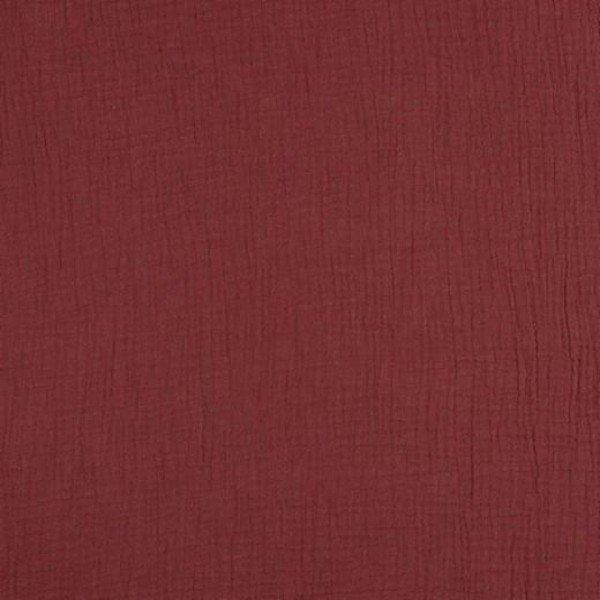 Double Gauze Uni - col. 034 rouge