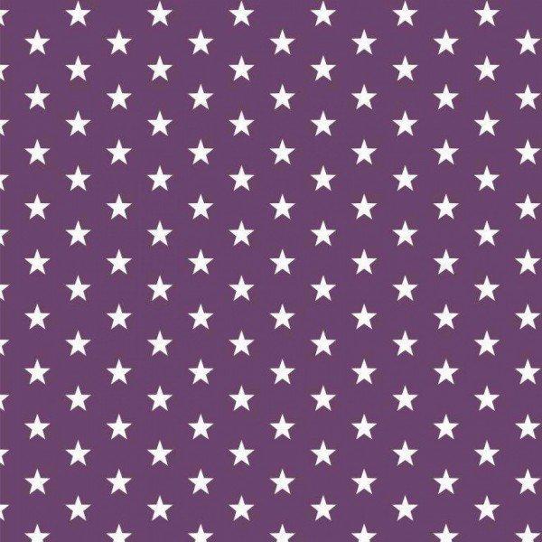 Baumwolle Design Petit Stars - col. 007 purple