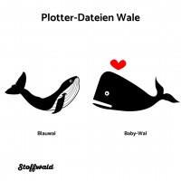 Plotter-Datei Wale