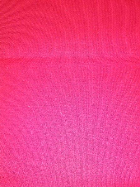 Bündchen Tricot im Schlauch uni gefärbt rot