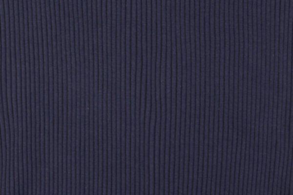Strickbündchen, uni, dunkelblau