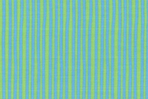 BW-Stoff Junge Linie Streifen blau, hellgrün
