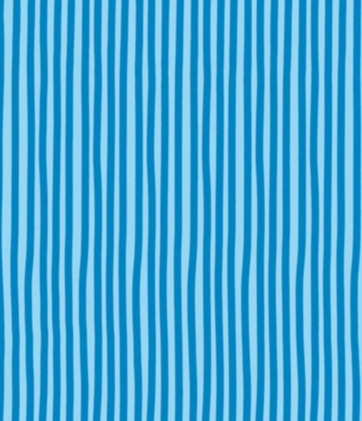 BW-Stoff Junge Linie Streifen blau-blau