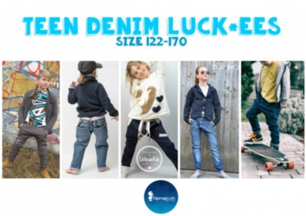 """Teen Denim Luck*ees"" - Bequeme Jeans für Kids & Teenies - Gr. 122 - 170"