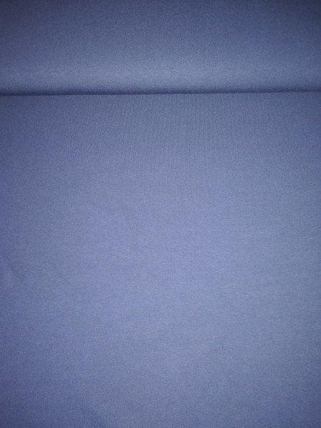 Jersey-Stretch uni gefärbt dunkelblau marine