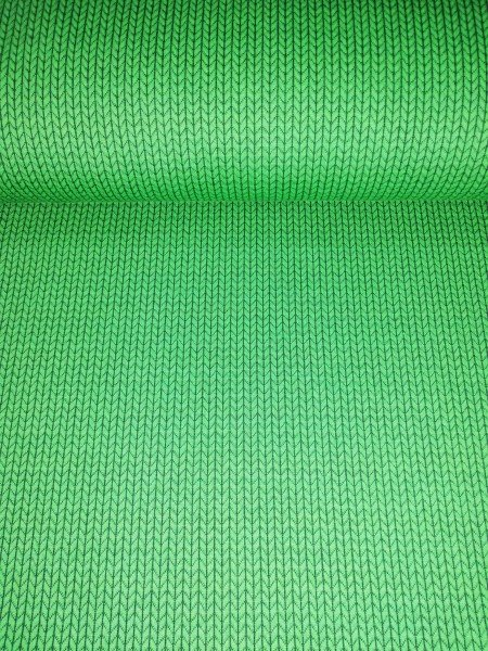 Albstoffe Knit Knit Jacquard-Jersey verde/grün