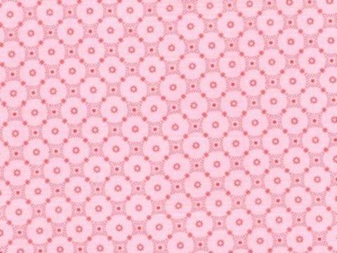 BW-Stoff Rosenborg Kreismuster rosa, bordeaux