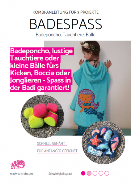 eBook Badespass (Badeponcho, Bälle, Tauchtiere)