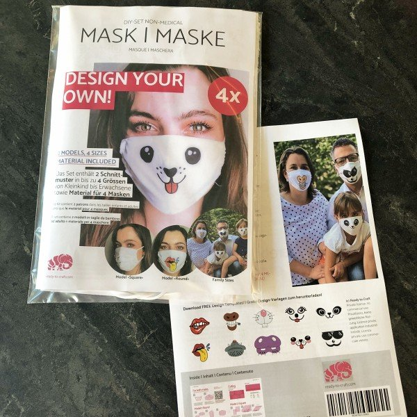 DIY-Masken Set