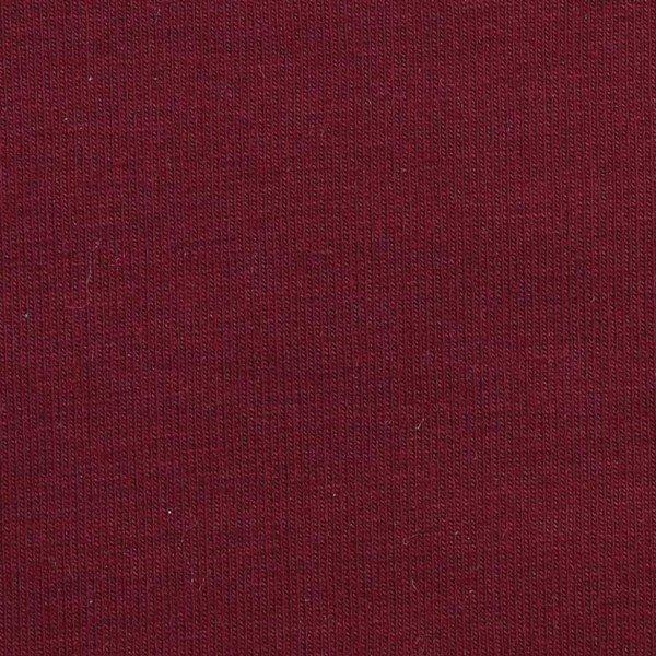 French Terry Uni aufgeraut - col. 509 burgund