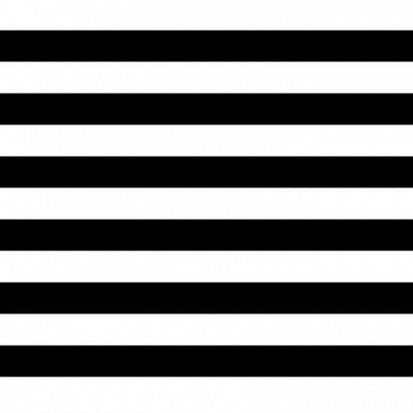 Popeline Stripe - col. 001 schwarz/weiß