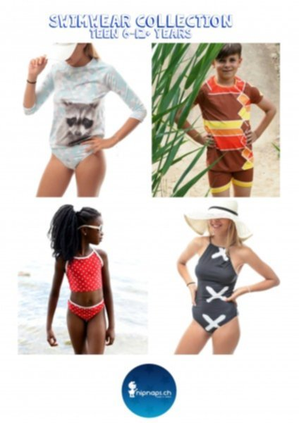 """Swimwear Collection Teens"" Bademode Kollektion für Girls & Boys - Gr. 122/128 / 170/76"