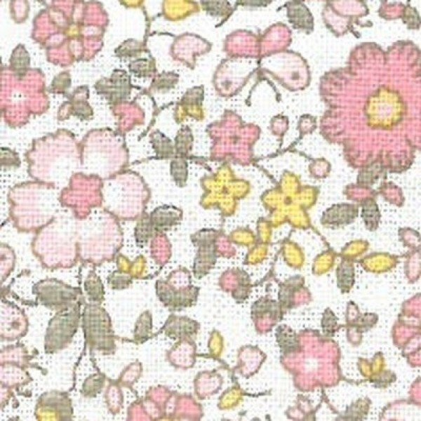 Baumwoll-Stoffe Viena Print - col. 68324 Lua Mimosa
