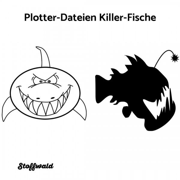 Plotter-Datei Killer-Fische
