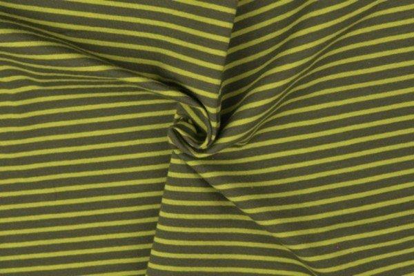 Jersey gestreift grün-oliv