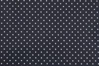 Baumwolle beschichtet Coated Petit Dots - col. 002 navy