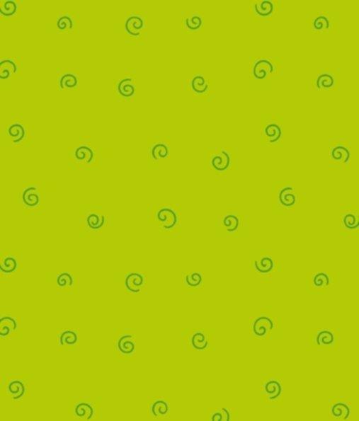BW-Stoff Junge Linie Kringel hellgrün