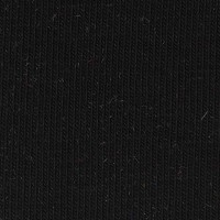 Jersey Uni GOTS - col. 001 deep black