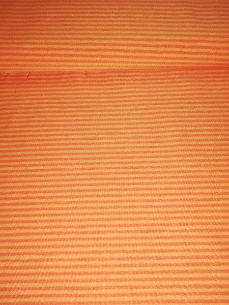 Swafing, Jersey Baumwolle, Streifen, orange
