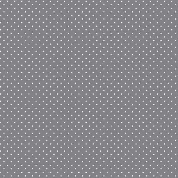 Baumwolle Design Petit Dots - col. 013 grau