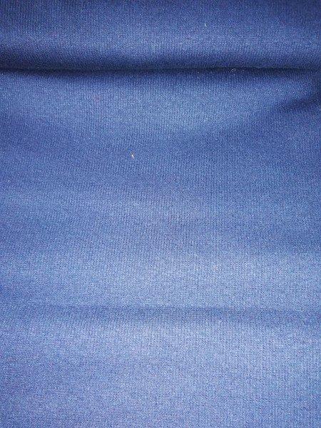 Bündchen Tricot im Schlauch uni gefärbt dunkelblau