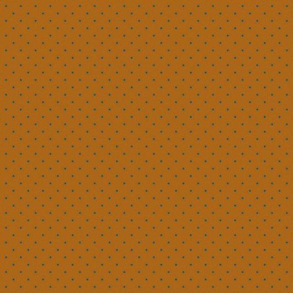 GOTS Bio Jersey Stars and Petit Dots - col. 103 cognac