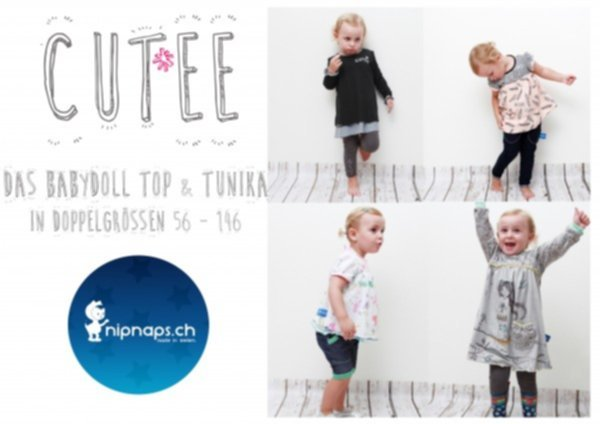 """Cut*ee"" Baby-Doll Top & Tunika - Gr. 56/62 - 140/146"