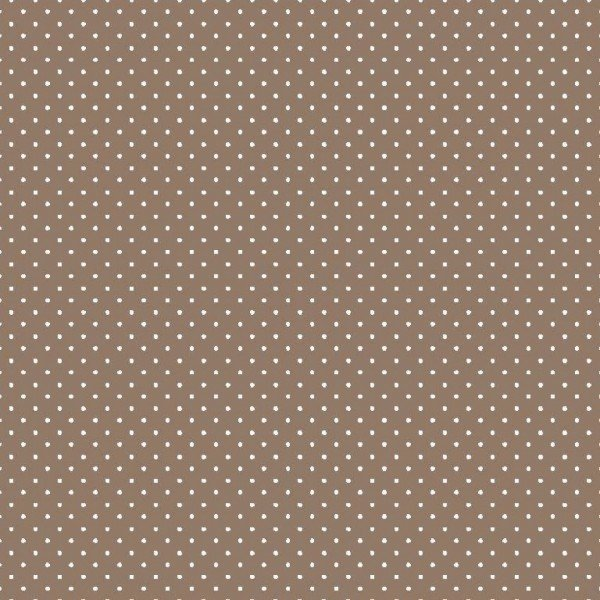 Baumwolle Design Petit Dots - col. 019 taupe