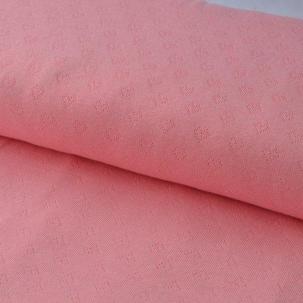 Feinstrick Weekender Hearts (Loch Strick), rosa scuro, Hamburger Liebe