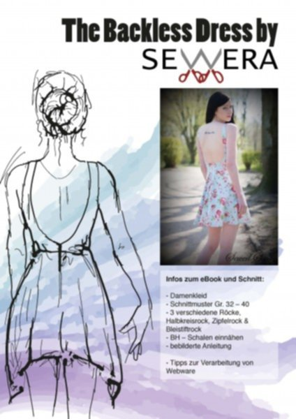 The Backless Dress Schnittmuster & Anleitung by Sewera