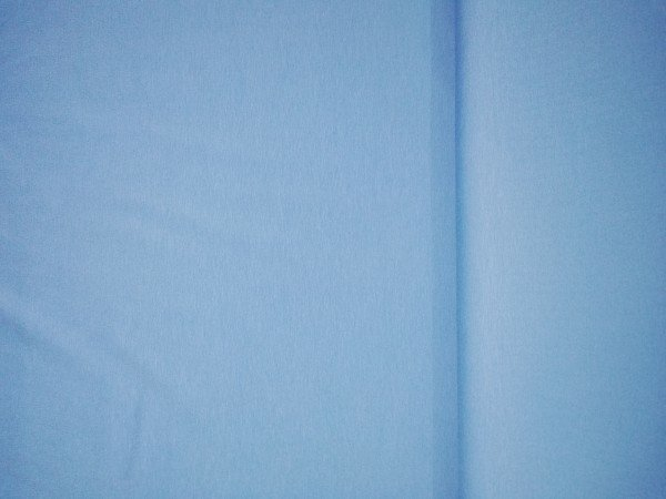 Jersey-Stretch uni gefärbt hellblau