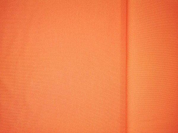 Jersey-Stretch uni gefärbt orange
