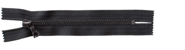 riri Metal 6 - Reissverschluss - EB Ebonal - Meterware
