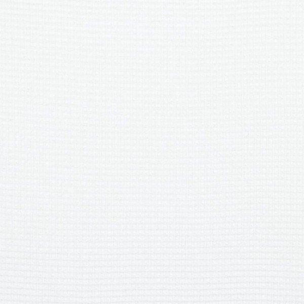 Waffel-Stoff - col. 006 weiß