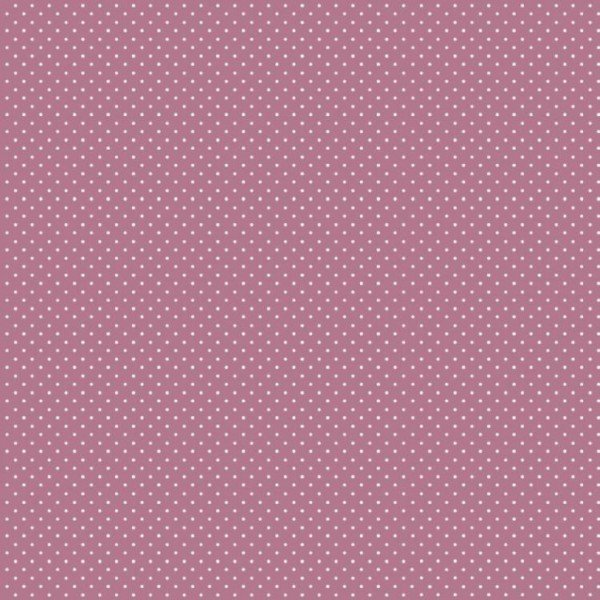 Baumwolle Design Petit Dots - col. 028 mauve
