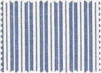 BW-Stoff Delft - Streifen blau-weiss