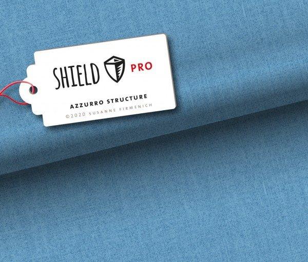 Albstoffe SHIELD Pro, uni azzurro structure by Hamburger Liebe