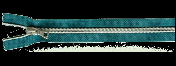 riri RV Flex 6 Metallic 1m mit 4 Schiebern - Petrol / Silber