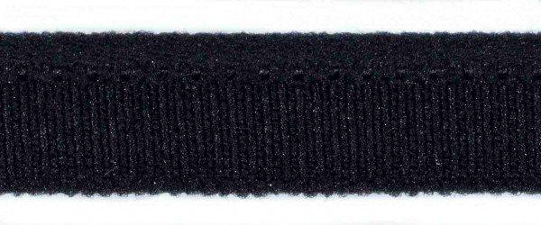Paspel elastisch, schwarz