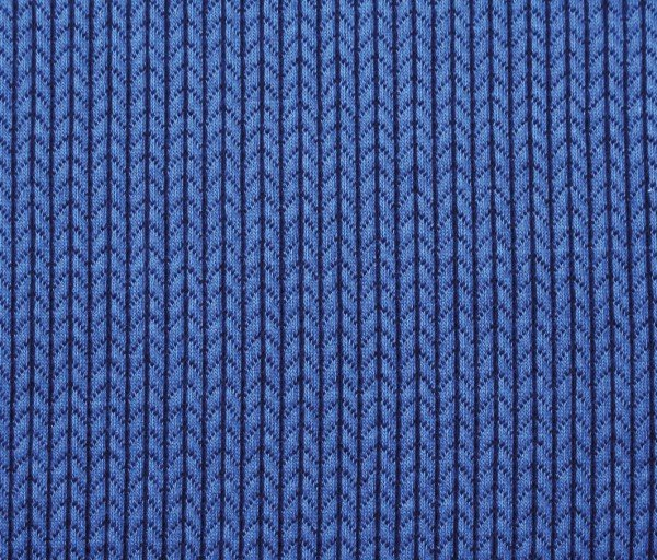 Albstoffe Knit Knit Jacquard-Jersey bluette/blue navy