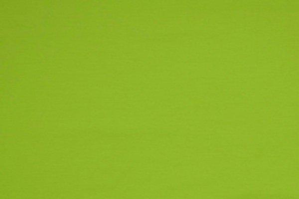 Jersey uni Baumwolle, knallgrün