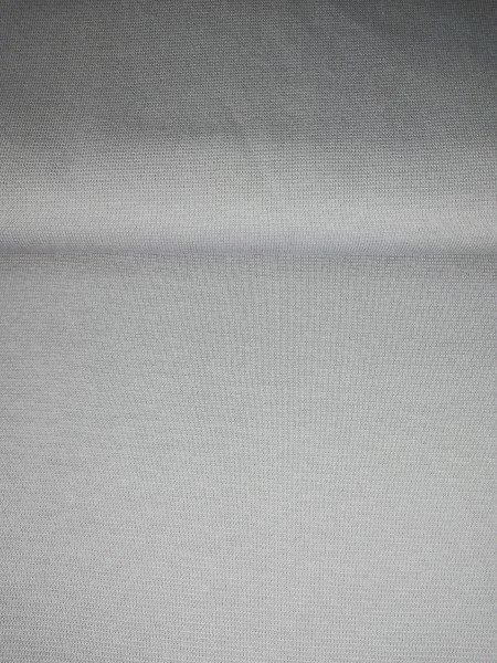 Bündchen Tricot im Schlauch uni gefärbt weiss