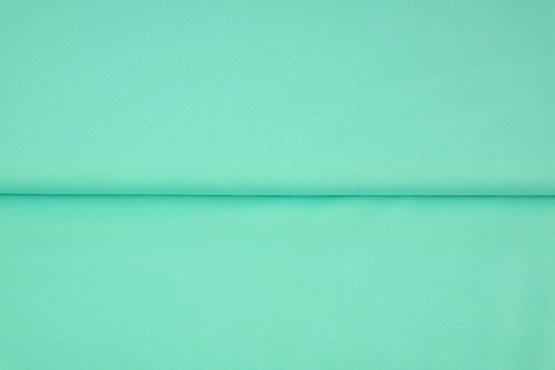 Jersey Baumwolle uni, biscay green