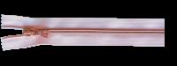 riri RV Flex 6 Metallic 1m mit 4 Schiebern - Rosé / Kupfer